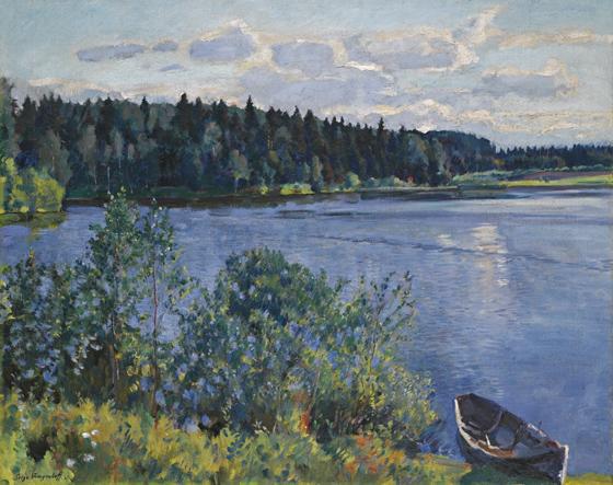 Sergei Arsenjewitsch Winogradow (1869–1938)-The Lake-560